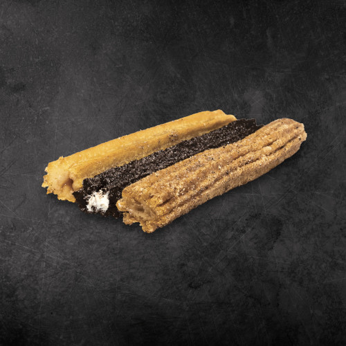 TacoTime Churros on a dark background