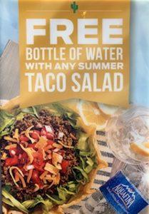 Summer salad combo