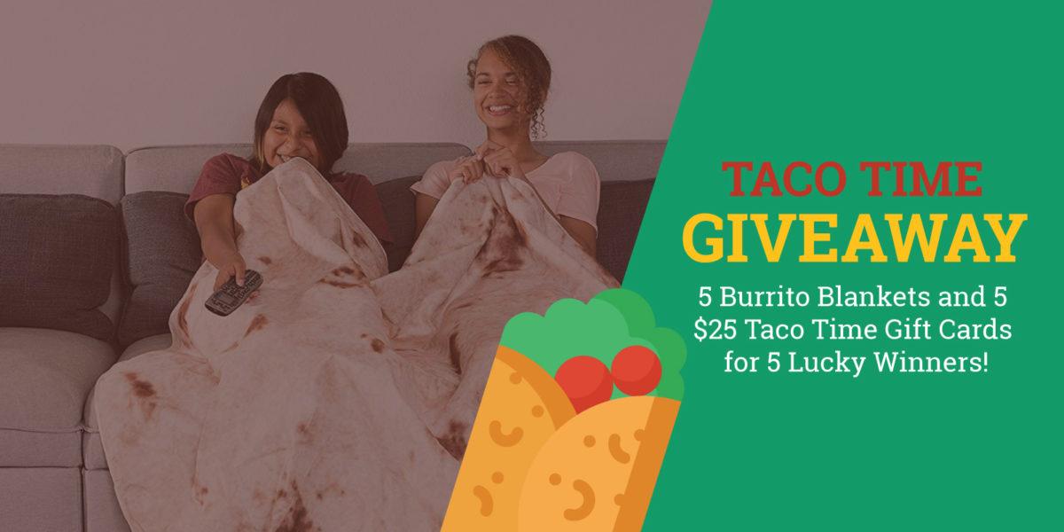 Burrito Blanket Giveaway