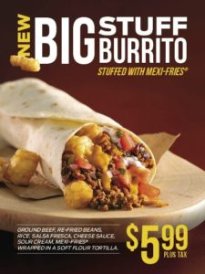 Big Stuff Burrito